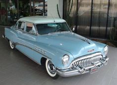 Howard Hughes 1953 Buick Roadmaster, the same model and color as used in the Stephanie Plum series books.