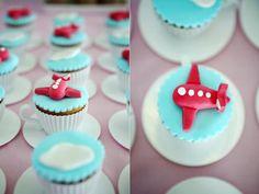 GIRLY airplane airline birthday party via Kara's Party Ideas karaspartyideas.com @emily davidson