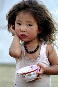 Les enfants en Mongolie