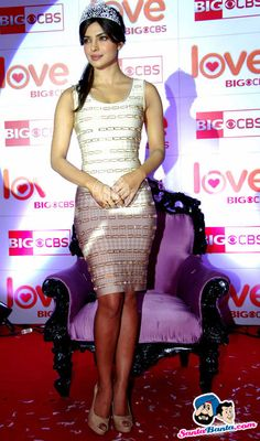 Priyanka Chopra Picture Gallery image # 184078 at CBS Big Love Show Launch containing well categorized pictures,photos,pics and images. Priyanka Chopra Haircut, Priyanka Chopra Hot, Vintage Bollywood, Dressed To The Nines, Bridal Lingerie, Bollywood Stars, Celebs, Celebrities, Beautiful Indian Actress
