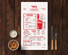 Here is another image created using our brand new Burger Bar Stationery Mockup. Perfect for logo presentations, branding projects, packaging, and website designs. Create your own scene in seconds! Restaurant Branding, Burger Restaurant, Restaurant Menu Design, Restaurant Recipes, Burger Bar, Stationery Design, Branding Design, Food Branding, Corporate Branding