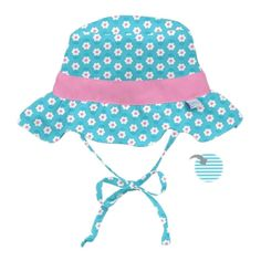 iPlay Inc., Classic Reversible Ruffle Bucket Sun Protection Hat, Months, Aqua (Blue) Daisy(pack of Blue Daisy, Aqua Blue, Pool Wear, Sun Protection Hat, Summer Cap, Girl With Hat, Sun Hats, Flower Prints, Classic