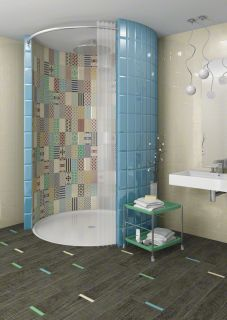 1000 images about bathroom ba o on pinterest wall for Azulejo tipo madera