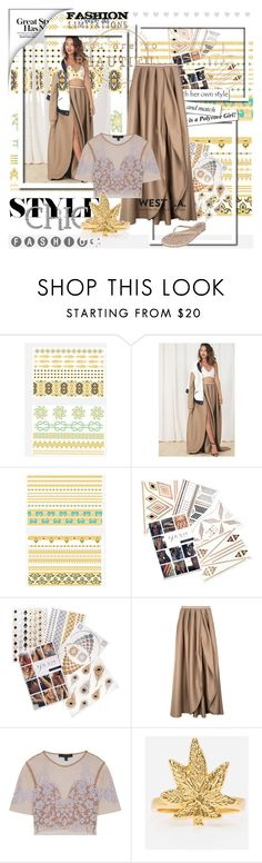 """WESTLABOUTIQUE"" by jasnablazevic ❤ liked on Polyvore featuring Lulu DK, House of Nomad, Flash Tattoos, For Love & Lemons, VidaKush, Tkees and SoTotallyLA"