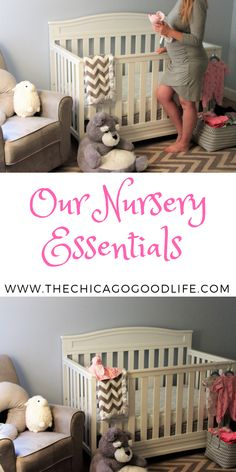 All of our nursery essentials for the baby number 2. Our crib, mattress, dresser and more all for the baby's room!