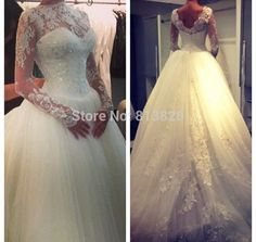 Cheap Wedding Dresses on Sale at Bargain Price, Buy Quality wedding gowns wedding dresses, wedding dress sweetheart, dress womens from China wedding gowns wedding dresses Suppliers at Aliexpress.com:1,Train:Sweep/ Brush Train 2,Wedding Dress Fabric:Lace 3,Item Type:Wedding Dresses 4,Silhouette:Ball Gown 5,Waistline:Natural
