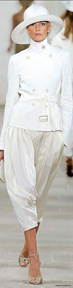 Ralph Lauren Spring 2009 Ready-to-Wear Fashion Show
