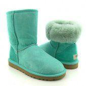 UGG Boots Classic Short Light Green