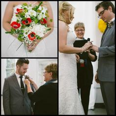 Carolyn Burke - Wedding Liaison :: Real Wedding of Libby and Jon at the Foundry Arts Centre in St Charles  #StLouis #wedding