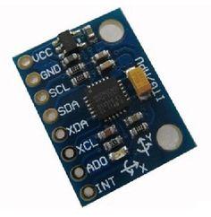 MPU-6050 Module 3 Axle Analog Gyro Sensor + Accelerometer Module for MPU 6050 F04878  #Affiliate