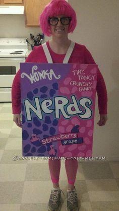 Fun Homemade Halloween Costume: Nerdy Nerd