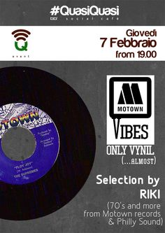 #Q_Events - Giovedì 7 Febbraio - Motown Vibes