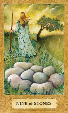 9 of Stones (Pentacles) - Chrysalis Tarot