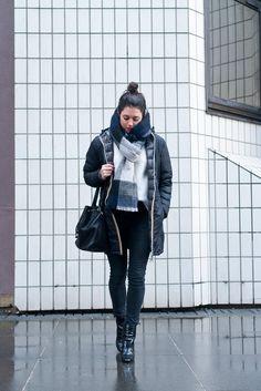 Street style Look Paris L'atelier d'al blog mode