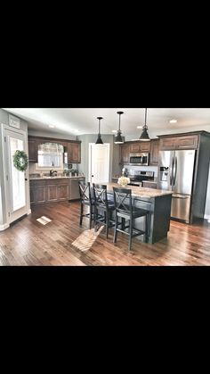 Check out this essential graphics and also go over the here and now facts and techniques on Rustic Home Remodel Kitchen Redo, Home Decor Kitchen, Kitchen Living, Home Kitchens, Kitchen Design, Kitchen Layout, Open Kitchen, Kitchen Ideas, My New Room