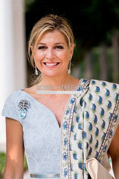 28-5-2018 NEW DELHI - Queen Maxima during a visit to Prime Minister Narendra Modi. Maxima visits the country at the invitation of the government and in her capacity as special advocate of the Secretary-General of the United Nations for inclusive financing for development. COPYRIUGHT ROBIN UTRECHT