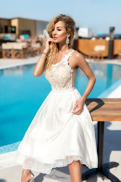 Disponibila pe www. Little White Dresses, Summer Collection, Fashion Photography, Club, Formal, Style, Preppy, Swag, High Fashion Photography
