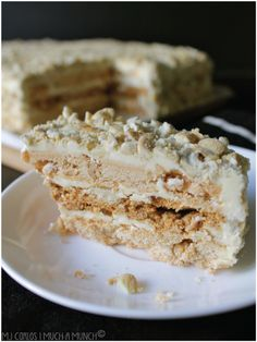 Sansrival ~ Layered Meringue and Buttercream Cake