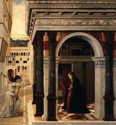 annunciation 1465 Bellini Gentile
