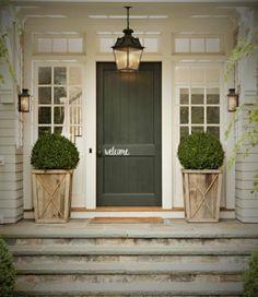 70 Best Modern Farmhouse Front Door Entrance Design Ideas 7 – Home Design Front Door Entrance, Front Entrances, Front Doors, Entry Doors, Exterior Doors, House Entrance, Doorway, Patio Doors, Porch Entry