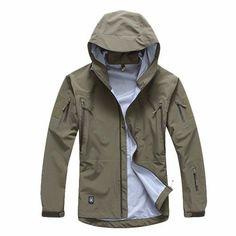 SPECTRE Tactical Hardshell Hooded Rain Jacket