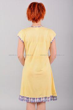 Домашнее платье В0078 Цена: 350 руб Симпатичное, домашнее платье выполнено из комфортного материала. Модель комфортного кроя, украшена контрастным принтом. Состав: 65 % хлопок, 35 % полиэстер. Размеры:XL,2XL,3XL  http://odezhda-m.ru/products/domashnee-plate-v0078  #одежда #женщинам #домашняяодежда #одеждамаркет