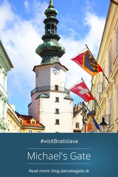 Michael´s chate One of the oldests buildings in Bratislava was built in 1300s and today it is the only city gate preserved from medieval fortifications. Baroque statue of St. Michael killing the Dragon is placed on its top. The tower houses the Exhibition of Weapons of Bratislava City Museum. #Slovakia #VisitBratislava #Europe #citybreak #Bratislava Tower House, City Museum, Top Place, Fortification, Bratislava, St Michael, City Break, Cn Tower, Baroque