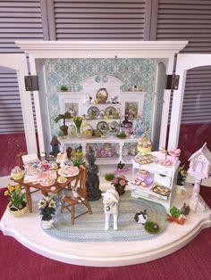 Dollhouse Miniature Easter