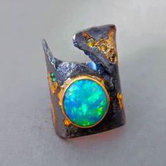 GOPH ALBITZ opal ring