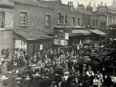 East St Market, c.1910 | The Markets Of Old London : one of the locations where we had church!!