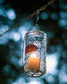 How to Make Hanging Jam Jar Lanterns by Brookelynn Morris, posted by Goli Mohammadi on Craftzine