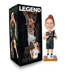 Seattle Storm: 2011 Bobbleheads Boxes - Lauren Jackson