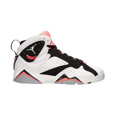 Girls Grade School Air Jordan Retro 7 (3.5y-9.5y) Basketball Shoes ($140) ❤ liked on Polyvore featuring shoes