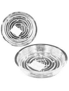 Lawn and Garden 40145: Transparent Planter Saucer (Available In A Pack Of 24) -> BUY IT NOW ONLY: $52.32 on #eBay #garden #transparent #planter #saucer