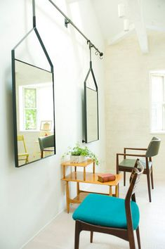 Gallary - S by Leif. Quites, Oversized Mirror, Salon Ideas, Furniture, Store, Hair, Home Decor, Image, Mirrors