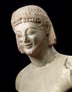Cavalier Rampin, période archaïque (600-480 av J.-C.),  marbre | Paris, Musée du Louvre