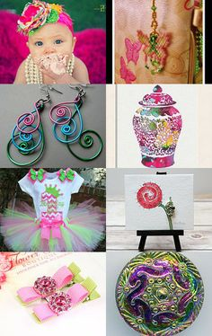 In the pink by Kathi Demaret on Etsy--Pinned with TreasuryPin.com
