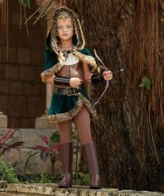 girl archer costume - Only at Chasing Fireflies - Stealth and a steady arm are the secret weapons of any archer, and you're among the best.