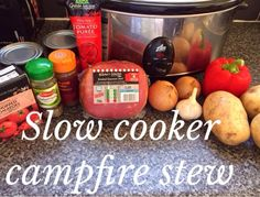 Newcastle Family Life: Slow Cooker Slimming World Campfire Stew Recipe astuce recette minceur girl world world recipes world snacks Campfire Stew Slimming World, Slow Cooker Slimming World, Slimming World Dinners, Slimming World Diet, Slimming World Recipes, Slimming Eats, Slow Cooked Meals, Healthy Slow Cooker, Campfires