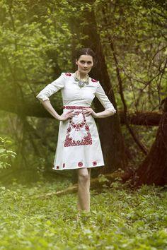 SALE Ivory satin short dress by AtelierDeCoutureJK on Etsy