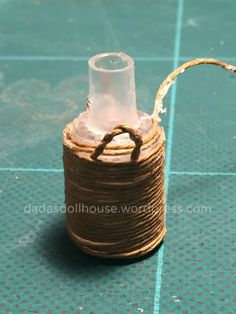Damigiane – Carboys and demijohns Candle Jars, Candles, Miniature Crafts, Clay Miniatures, Decoration, Projects To Try, How To Make, Diy, Barrel