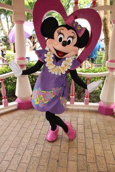 Sweet Minnie Mouse at Disneyland Paris