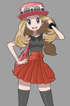 Arte original o fan art esta es una de mis imagenes favoritas <3 #PokémonXY #KalosQueen
