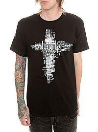 @dlrgriffin117  HOTTOPIC.COM - Lamb Of God Tech Cross T-Shirt