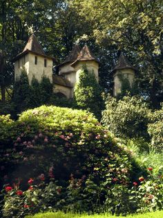 """plantinghuman:  """"This is Aurora's Castle in the Efteling, a themepark inspired by Grimms fairytales. It is located in Kaatsheuvel, The Netherlands, so if you ever want to visit the Netherlands, and yes we are bigger than only Amsterdam! Visit this..."""