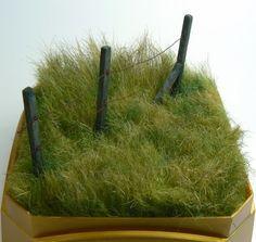 Grass from fur fabric tutorial