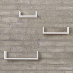 Varick Gallery Hendricks 3 Piece Floating Shelf Set & Reviews | Wayfair