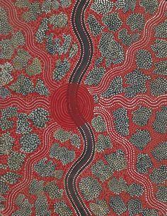 Kaapa Tjampitjinpa - Untitled  1974  71 x 56 cm
