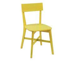 Cadeira Bell Ii - Amarelo Lavado