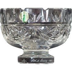 Waterford Society Crystal 5 inch Penrose Bowl